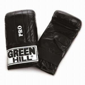 Greenhill poinçonnage mitt tiger cuir sac de boxe sac pad training punch gants strik