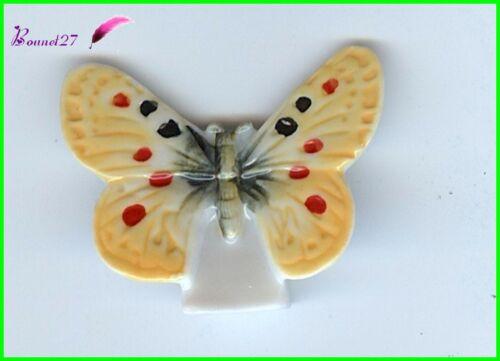 """Feve de Collection Edition Atlas Papillon Butterfly /"""" Le Turkestan /"""" #D10"""
