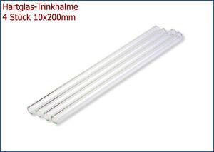 4-St-TRINKHALME-AD-10mm-200mm-Lang-Glastrinkhalme-aus-Borosilikatglas