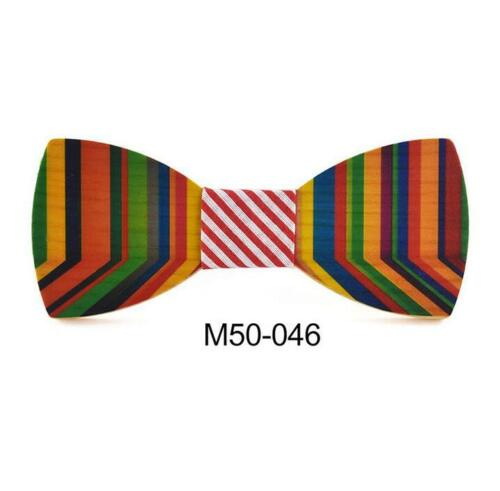 Handmade Men/'s Wooden Bow Tie Novelty Gift Wedding Party Wood Bowtie New