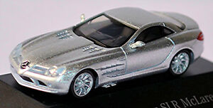 MERCEDES-BENZ-SLR-McLaren-Coupe-2003-09-plata-plata-metalico-1-87-Herpa
