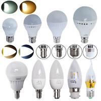 6/12X E14 E27 B22 B15 3W 5W 6W 7W 8W 9W LED Globe Bulbs Candle Light Bulb Lamps