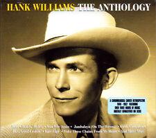 HANK WILLIAMS Greatest Hits* Import 3-CD BOX SET *75 Orig Songs *NEW & SEALED