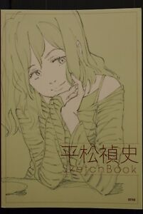 JAPAN-The-Sketch-Album-of-Tadashi-Hisamatsu-EVA-FLCL-Yuri-on-Ice-Art-Book