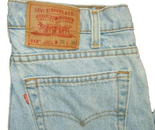 Levis 512 W30 | Levis 512 Skinny  30 W x 30 L | Le
