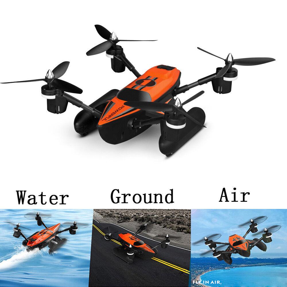 WLtoys Q353 Triphibian 2.4G 6-Axis Air-Ground-Water RC Quadcopter-Pre-order H9K1