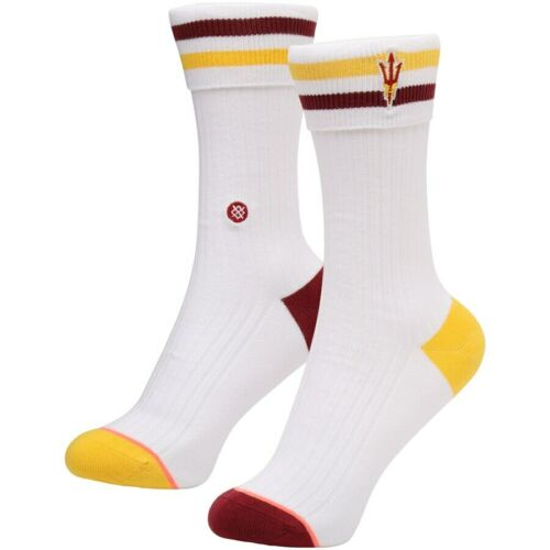 Anklet New with tags Stance Socks Women/'s ASU Sun Devils NCAA M 8-10.5
