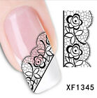 20 Styles Design 3D Nail Art Stickers Flower Manicure Decals Tips Decoration DIY