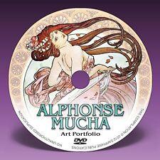 ALPHONSE MUCHA - 475 Illustrations on DVD + Art Nouveau