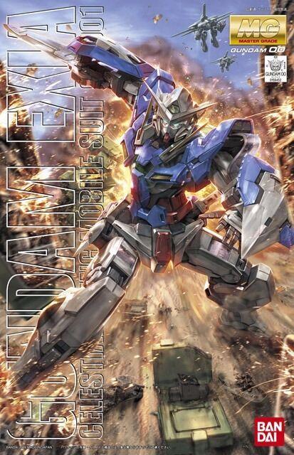 Bandai MG 1 100 Gn-001 Gundam Exia Modello Plastica Kit Gundam 00 da Giappone