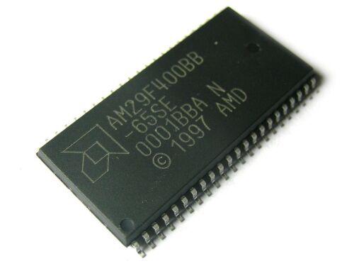 AM29F400BB65SET S044 K 512 K X 8-Bit//256 X 16-Bit Amd Flash 4M 4 Megabit 1pc