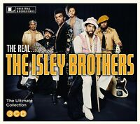 Isley Brothers Real Ultimate Collection 45 Original Recordings Best Of 3 Cd