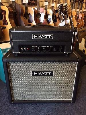hiwatt custom 20 with 2 x12 cabinet