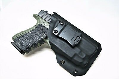Inside the Waistband Holster for Glock 19 with TLR-7 IWB holster Glock 19 TLR-7