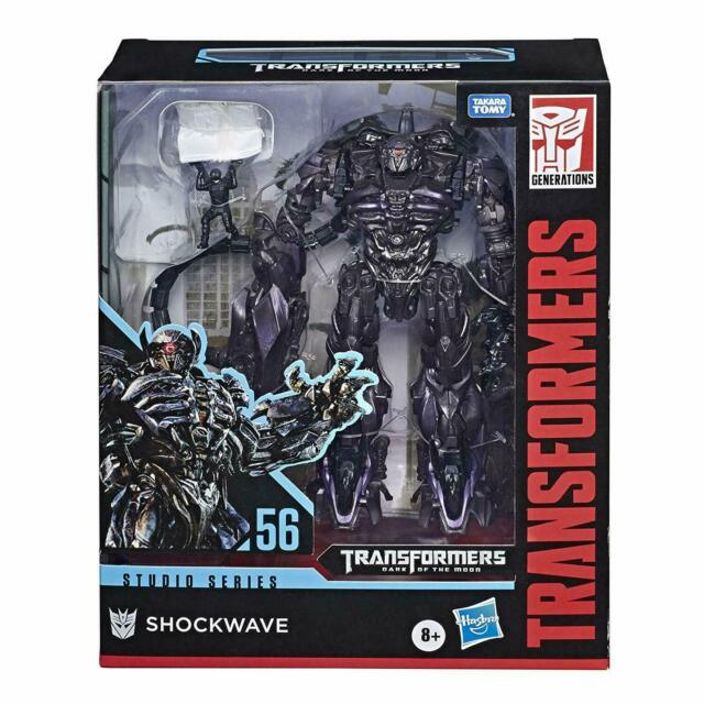 Hasbro Transformers Studio Series 56 Shockwave DOTF SS56 Leader Class Figure Toy