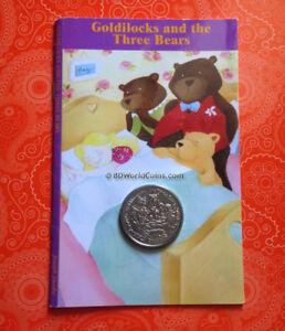 2006-ISLE-OF-MAN-ONE-1-CROWN-GOLDILOCKS-amp-THREE-BEARS-IN-POBJOY-SEALED-BOOK-CARD