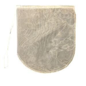 200 micron pond filter bag sock with drawstring 42cm x 37cm for Pond filter bag