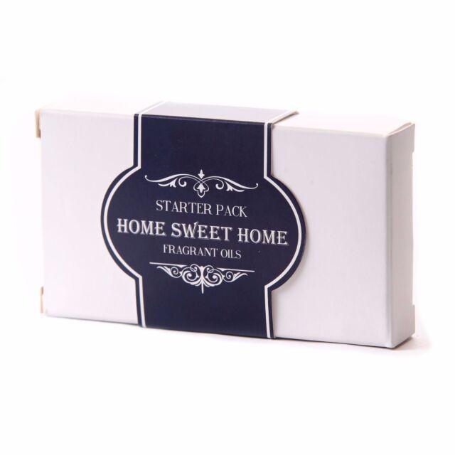 Fragrant Oil Starter Pack - Home Sweet Home 5 x 10ml (SP10FOHOMESWEE)