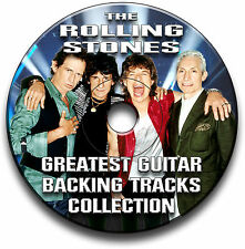 46 ROLLING STONES STYLE ROCK GUITAR MP3 BACKING TRACKS CD ANTHOLOGY LIBRARY