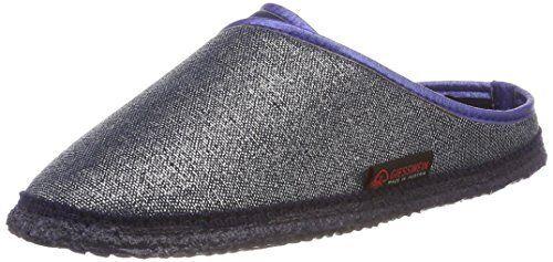 Giesswein Hausschuhe Patsch Pantoffeln 38-41 rutschfeste Sohle Slipper Baumwolle