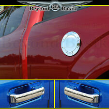 2015-2017 FORD F150 Front Chrome Door Handle (1KEYHOLE W/O SMART)+Gas Door Cover