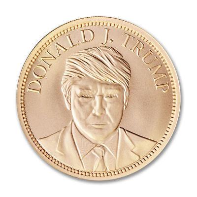 Donald Trump 2 oz copper coin Make America Great Again