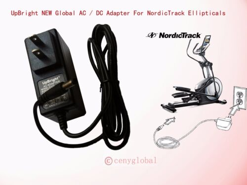 AC Adapter For NordicTrack E5.7 Residential Ellipticals Convertor Power Supply