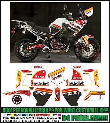 Kit adesivi decal stikers YAMAHA XT 1200 Z SUPER TENERE WORLD CROSSER 2010 2013