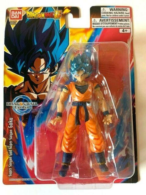 "Bandai Dragon Ball Super Evolve Super Saiyan Blue Goku 5"" Action Figure"