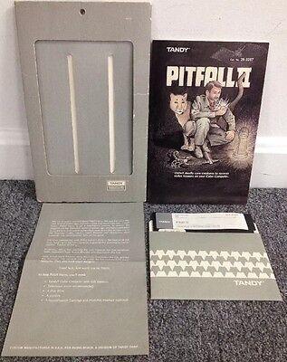Pitfall II Diskette Game COMPLETE Tandy TRS-80 CoCo Radio Shack Pre Nintendo