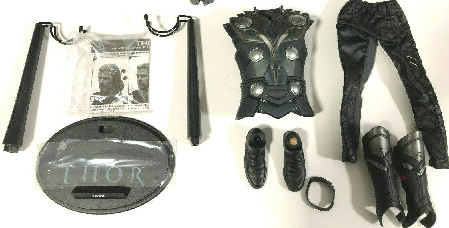 SALE    HOT TOYS THOR ARMOR SUIT + BODY SET - USED - 1 6 12