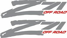 """Z71 Offroad Decals """"Sold In A Pair"""" Left and Right side"""