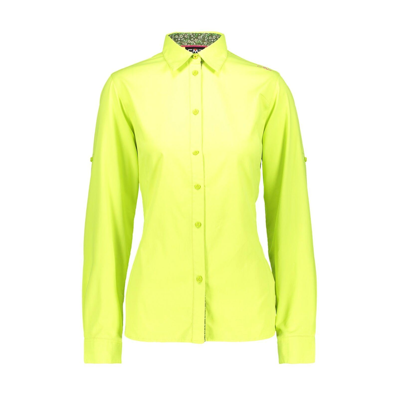 CMP woman shirt blouse light green shirt  Breathable Elastic Antibacterial  big discount
