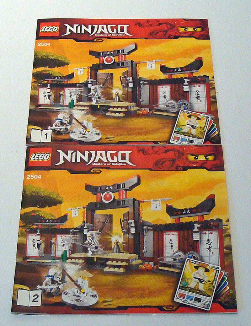 Lego® Ninjago 2504 - - - Spinjitzu Trainingszentrum 7-14 Jahren Gebraucht 61ee46