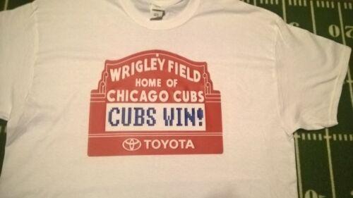 Chicago Cubs World Series Wrigley Field Sign Baseball T-shirt
