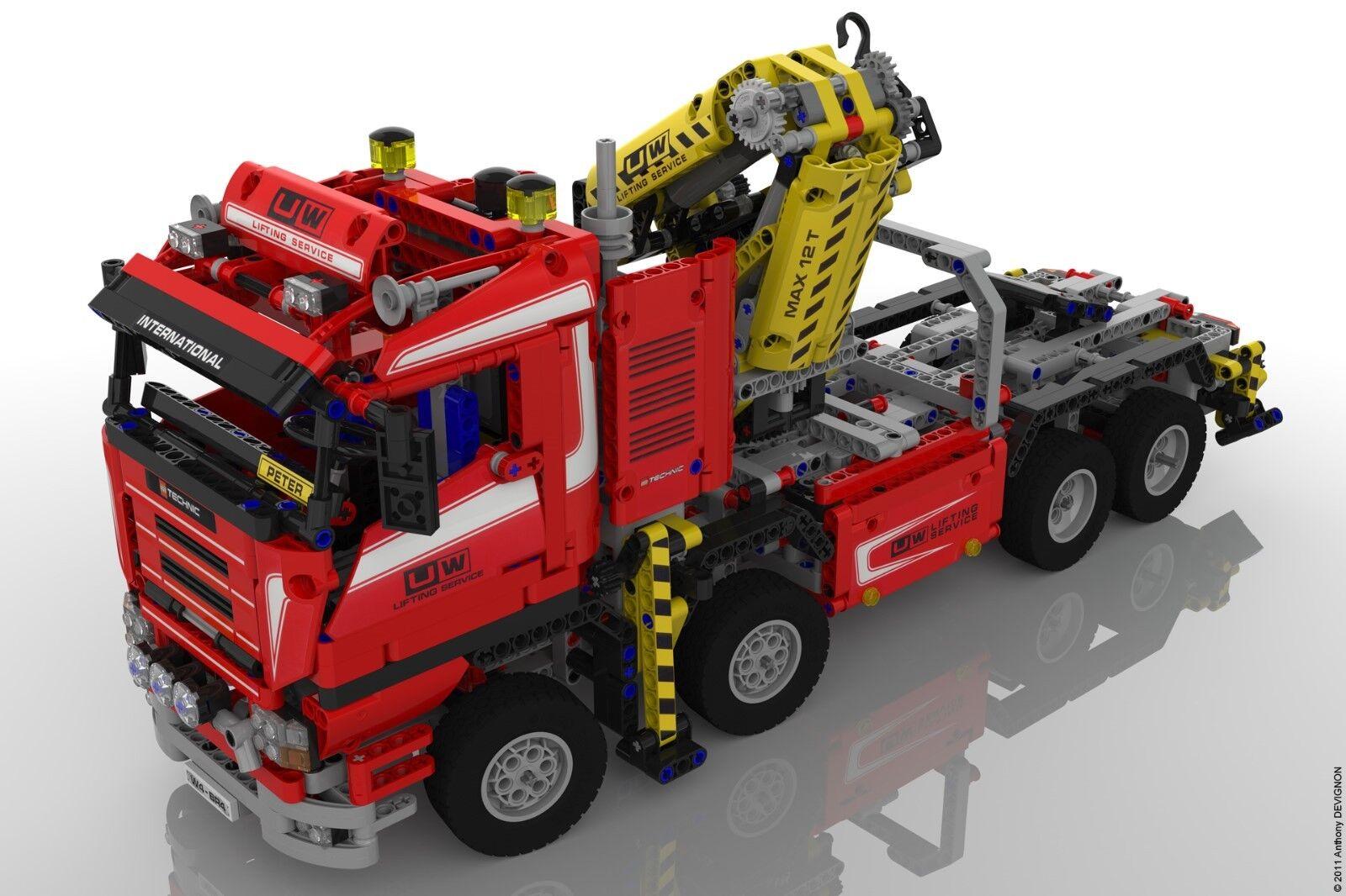 ABSOLUTE RARITÄT Lego Technic 8258 super Zustand  Mit Bauanleitung und ohne OVP.