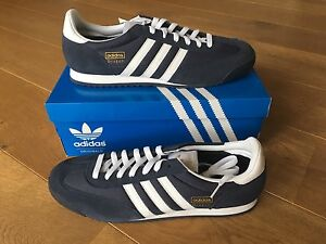 adidas-Originals-Dragon-Trainers-in-Navy-amp-White-Brand-New-Boxed-G50919-free-1st