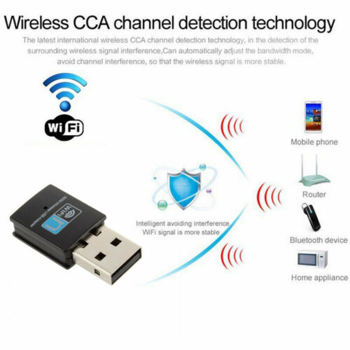 300Mbps Mini USB WiFi Dongle 802.11 B//G//N Wireless Network Adapter for Laptop PC