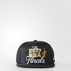 aae8da67d0b Image is loading Adidas-2017-Cleveland-Cavaliers-NBA-Finals-Snapback-Hat-