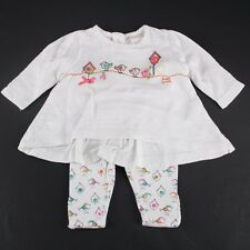 NEXT Baby Girls Mädchen Vogel 2 Tlg Outfit Set Kombi First Size 50/56 England