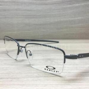 1e7fa28ea74 Image is loading Oakley-Gauge-5-1-Titanium-Eyeglasses-Matte-Black-