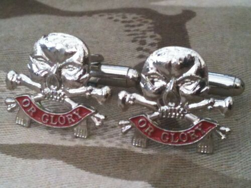 Queens Lancers Military Cufflinks