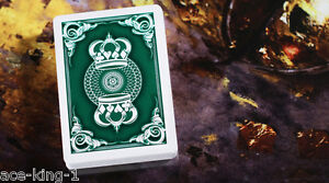 12-new-decks-GREEN-CROWN-PLAYING-CARDS-by-bicycle-USPCC