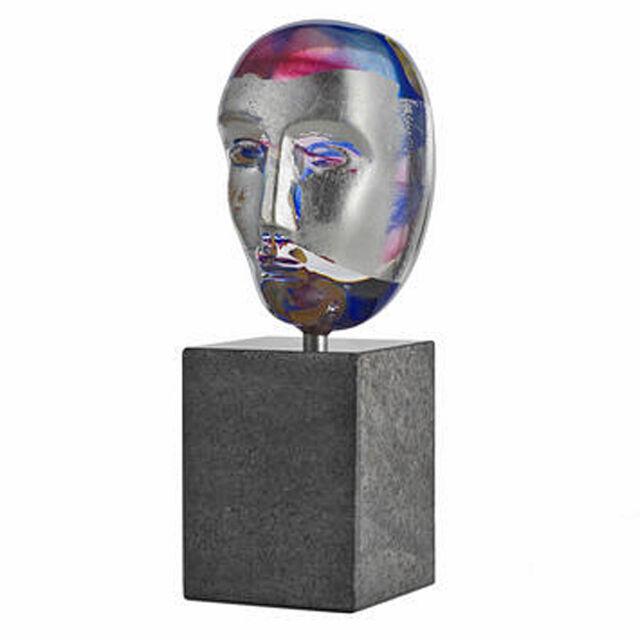 Kosta Boda Bertil Vallien - Brain on stone / ODEN - limited Edition sign&num