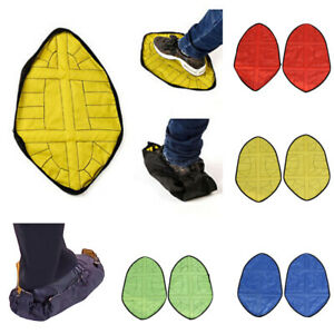 Step in Sock Reusable One Step Automatic Sock Hand Free Shoe Covers-2 Pcs US