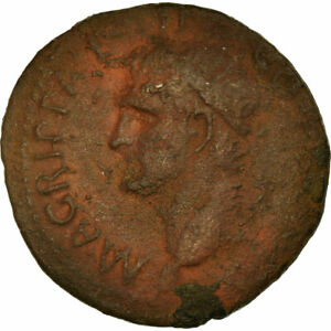 657606-Coin-Agrippa-As-37-41-Rome-VF-Bronze-RIC-58