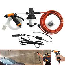 High Pressure Self-priming Electric Car Wash Water Pump 12V 100W Car Washer Set