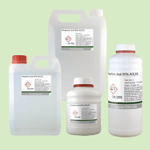 Details about Phosphoric Acid 85% ACS Food Grade Rust Remover 500ml to 5L