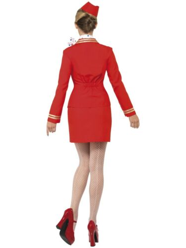 Chariot Dolly hôtesse de l/'air Hôtesse Adulte Costume