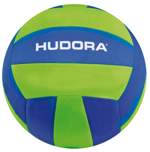 HUDORA Beachvolleyball Mega Ø 40,5 cm Beachball Volleyball aufblasbar Ball Bälle